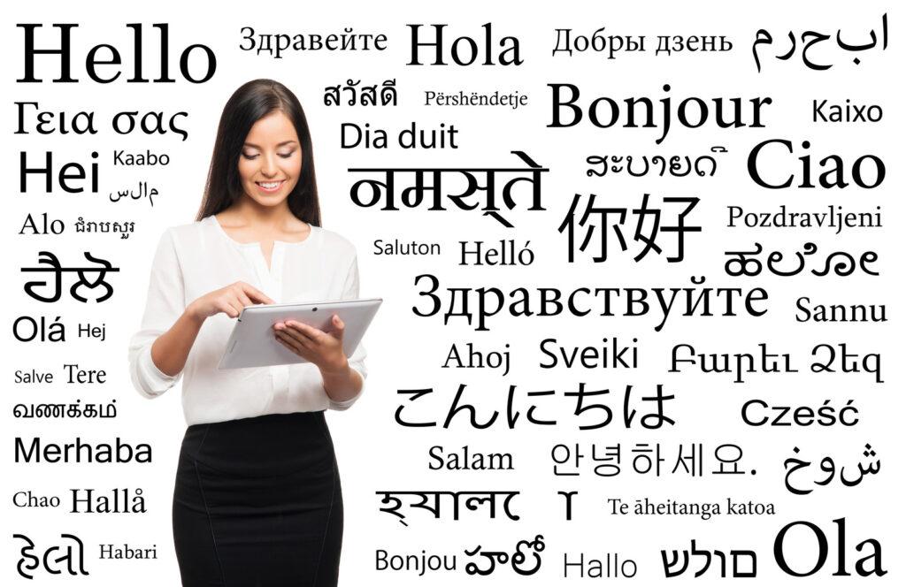 Centro de idiomas en línea